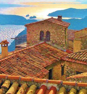 Provence eze large photo