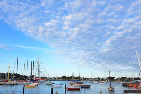 Brittany boats La Trinite sur Mer